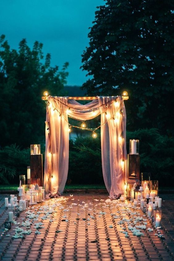 47-Starry-Night-Wedding-Ideas-You-Cant-Resist…-1 TODOFIESTAS (1)
